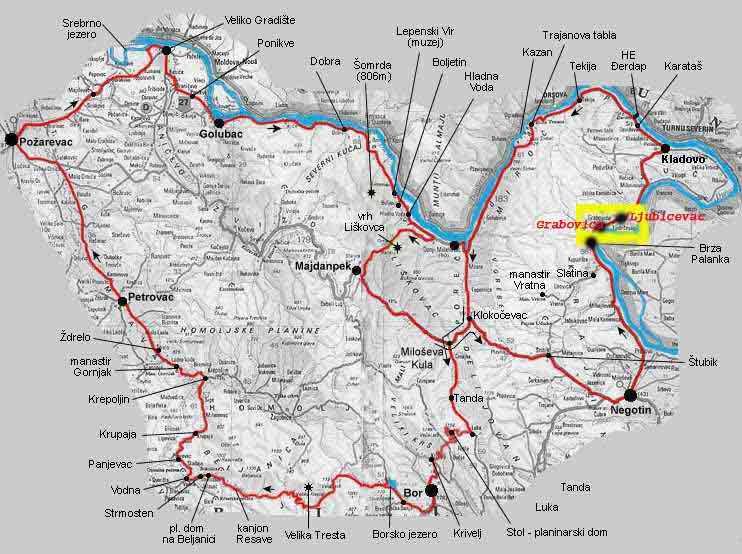 kladovo mapa Slavisa Jordacijevics hemsida kladovo mapa