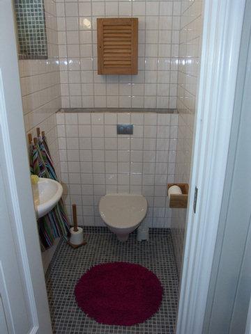 Renovera liten toalett