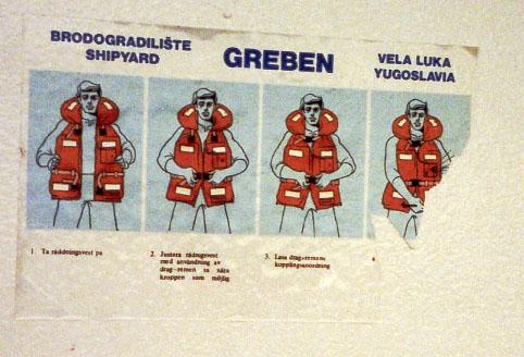 Inspection Of M V Amorella Viking Line