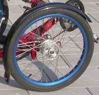 Sparkstøtting med hjul