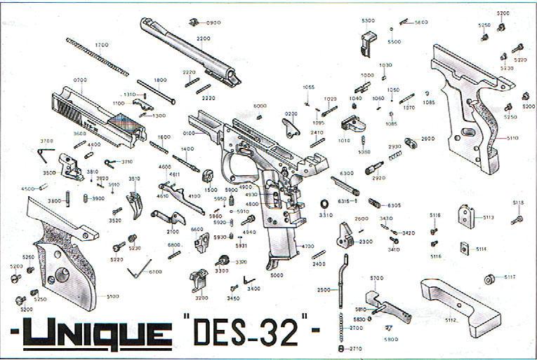 Unique DES32 Manual? Unique_schema