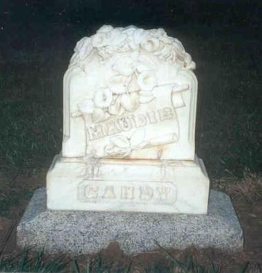 Maudie Gandy gravestone