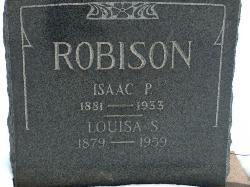 Isaac & Louisa Robison