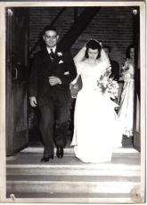 Ray & Francis Wedding 1946
