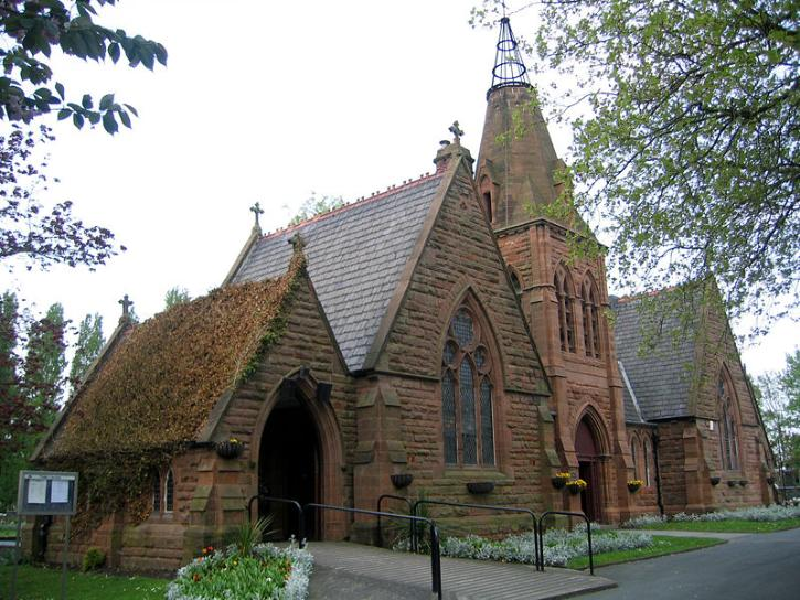 Widnes Cemetery Chapels